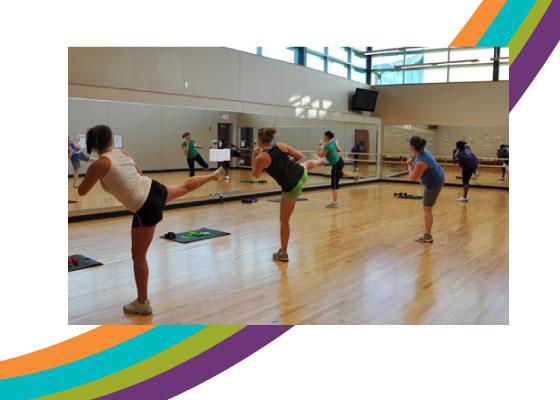 The Dance Studio at the Dayton Kroc Center